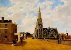 Discover artworks, explore venues and meet artists. Art UK is the online home for every public collection in the UK. St John's Church, Art Uk, Worship, Religion, England, Explore, Gallery, Places, Cathedrals