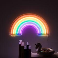 20 of the best Christmas gifts for girls - # Rainbow Light, Neon Rainbow, Rainbow Wall, Neon Aesthetic, Rainbow Aesthetic, Christmas Gifts For Girls, Christmas Fun, Rainbow Bedroom, Neon Room