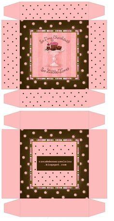 American Girl Doll 3D Printables | aqui fica a caixa para os chocolates podem imprimir e dizer como fica ...