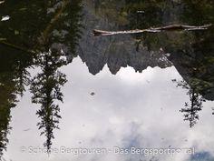 Der Latemar spiegelt sich im Wasser, Eggental - Foto: Mario Hübner Mario, Snow, Outdoor, Pictures, Roses Garden, Hiking, Italy, Outdoors, Outdoor Games