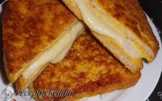 Érdekel a receptje? Kattints a képre! Hungarian Recipes, Hungarian Food, Hamburger, French Toast, Sandwiches, Goodies, Cooking Recipes, Lunch, Meals