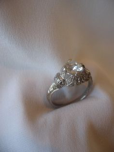 Circa 1915 Edwardian Ring by camelliacollection on Etsy, $10655.00