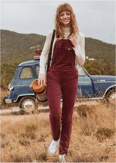 Μήκος ποδιού (εσωτερική μέτρηση) περίπου 79 εκ. Πλένεται στο πλυντήριο. Από 98% βαμβάκι, 2% ελαστάν. Overalls, Autumn Fashion, Autumn Style, Pants, Trouser Pants, Fall Fashion, Women's Pants, Women Pants, Jumpsuits