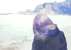 Image uploaded by ❀ Serenity❃╮ 平静. Find images and videos about cute, art and anime on We Heart It - the app to get lost in what you love. Anime Art Girl, Manga Art, Art Painting Gallery, Art Folder, Kuroko No Basket, Illustration Girl, Anime Scenery, Avatar, Animation