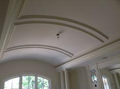 Molding Decor, Pop Design, Lobby Design, Interior Design And Build, House Made, Ceiling, False Ceiling Design, Ceiling Design, Wainscoting