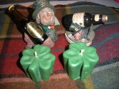 These are my St. Paddy Day votives.