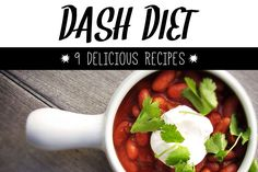 Health Benefits of the DASH Diet and 9 Delicious Recipes  #healthy #diet #recipes via @livestrongcom