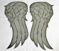 Daryl Dixon The Walking Dead  Angel Wings Vest by Fallout6Bazaar