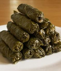 Arabic Food and called (Grape leaves)
