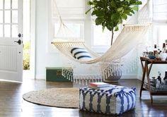 Inspiratie: een hangmat in je interieur