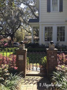 Beautiful and inspiring outdoor areas and gardens from the 2014 Savannah Tour of Homes & Gardens.