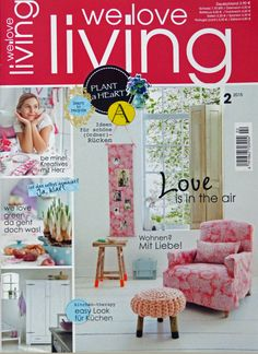 Zeitschrift Living And More syl for we living magazine http weloveliving de