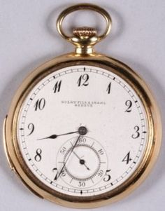 *golay Fils & Stahl Geneve Pocket Watch