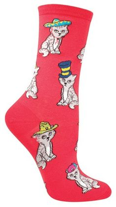 Cats in Hats Socks - The Sock Drawer