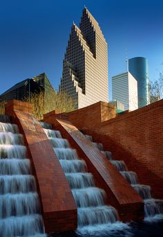 Houston Fountain,Texas USA | Inge Johnsson Photography