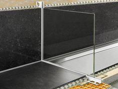 Profilo per alloggiamento vetro doccia Schlüter®-DECO-SG by Schlüter-Systems