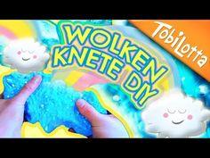 Wolkenknete! oder Wolkenschleim? Wolkenschleim DIY Foam Clay Deutsch Kinderkanal - Tobilottarium 34 - YouTube