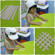 Simple steps to make wall hanger with ice cream sticks. #kidscrafts #icecreamstickcrafts #HowTo #DIY