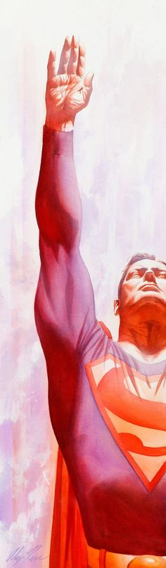 Superman by Alex Ross. His style of using real people as models, really works…