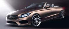 MERCEDES-BENZ C CLASS CABRIOLET, SOPHISTICATED PROPORTIONS - Auto&Design