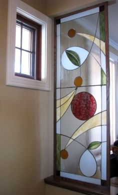 Modern Stained Glass, Stained Glass Door, Stained Glass Flowers, Stained Glass Designs, Stained Glass Panels, Stained Glass Projects, Stained Glass Patterns, Leaded Glass, Mosaic Glass