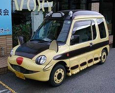 A fantasy car to go with the fantasy house. What could be more fantastic than your very own real nekobasu?!