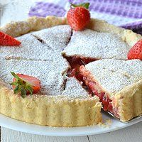 Crostata di Fragole Americana – Strawberry pie