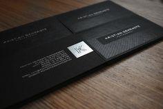 25 Beautiful Dark Business Card Designs