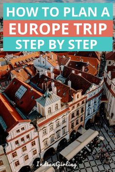 Looking to travel to Europe and don't know how to plan a trip? This step by step guide will help you research plan and book your Europe trip on a budget from scratch. It also includes 4 one week Europe itinerary ideas. Backpacking Europe, Europe Travel Guide, Budget Travel, Travel Guides, Travel Destinations, Holiday Destinations, Italy Travel, Bucket List Europe, Travel Advice