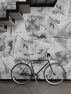 TRACES / Designer Christian Benini / carta da parati Wall&Decò #wallpapaer #art