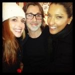 Great prez P-E 2014 at @MACcosmetics #montreal yesterday with @mac_luc_b et @VaniaAguiar12. Happy holidays! #fashion #beautyblooger #instagram