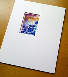 #watercolor #card *personal hand painted cards would make a thoughtful gift