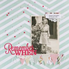 Remember When by @maryannjenkins (yep I need to fix the word scouts!! maryannjenkins.com