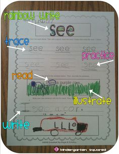 Tips to make teaching SIGHT WORDS easy and FUN! Plus word sheets to practice a multitude of ELA standards! $