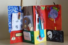 that artist woman: Aztec File Folder books