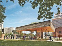 Sister Cities Pavilion - DIGSAU with Studio Bryan Hanes Philadelphia, Pennsylvania