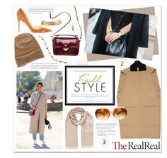 """Fall Style With The RealReal: Contest Entry"" by jenpeterson07 ❤ liked on Polyvore featuring Balenciaga, Marc Jacobs, Prada, Christian Louboutin, Chanel, Jennifer Fisher and Oliver Peoples"