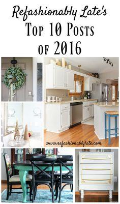Top 10 Posts of 2016 - www.refashionablylate.com