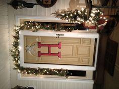 Christmas - front door idea instead of wreath!