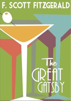 Book Cover: The Great Gatsby by Margaret Fohner, via Behance