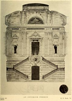 Competition design for an Interior Perron