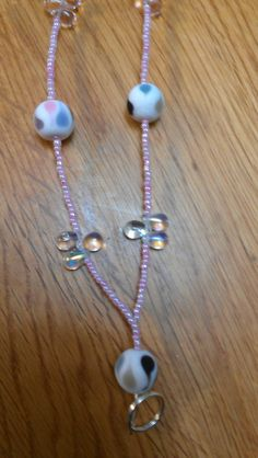 Pastel beaded lanyard ... Uploaded with Pinterest Android app. Get it here: http://bit.ly/w38r4m