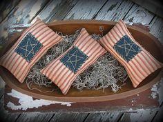 Americana Flag Pillow Bowl Filler Primitive Decor by ThatSallie
