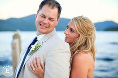 Lake Wedding, Summer Wedding #weddings #summerwedding #lakewedding