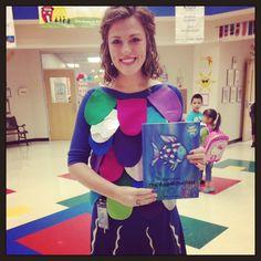 Primary Chalkboard: Thursday- Dress Like a Book Character rainbows, rainbow fish