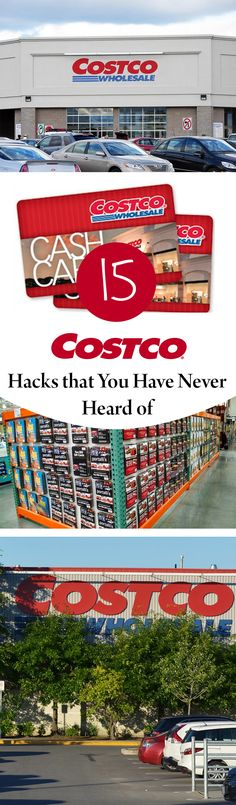Everyone loves the deals at Costco! Here are 15 Costco Hacks that You Have Never Heard of! Ways To Save Money, Money Tips, Money Saving Tips, How To Make Money, Money Hacks, Making Life Easier, Tips & Tricks, Walmart, Shopping Hacks