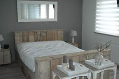 steigerhout | Bed van steigerhout Door peggy1975