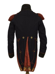 Genie of the French Imperial Guard Habit of Sapeur (Sapper), backside