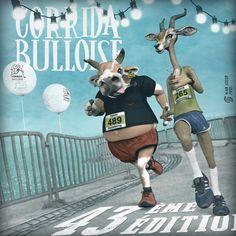 corrida-bulloise-2018 - al1 - alain schlup - www.al1.ch Character Designer, 3d Character, Ski Freestyle, Pochette Cd, Image 3d, Image Originale, Fan Art, Illustrations, Zbrush