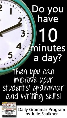Daily Grammar Program, Full Semester, Bell Ringers, Worksheets, Quizzes   Middle and High School